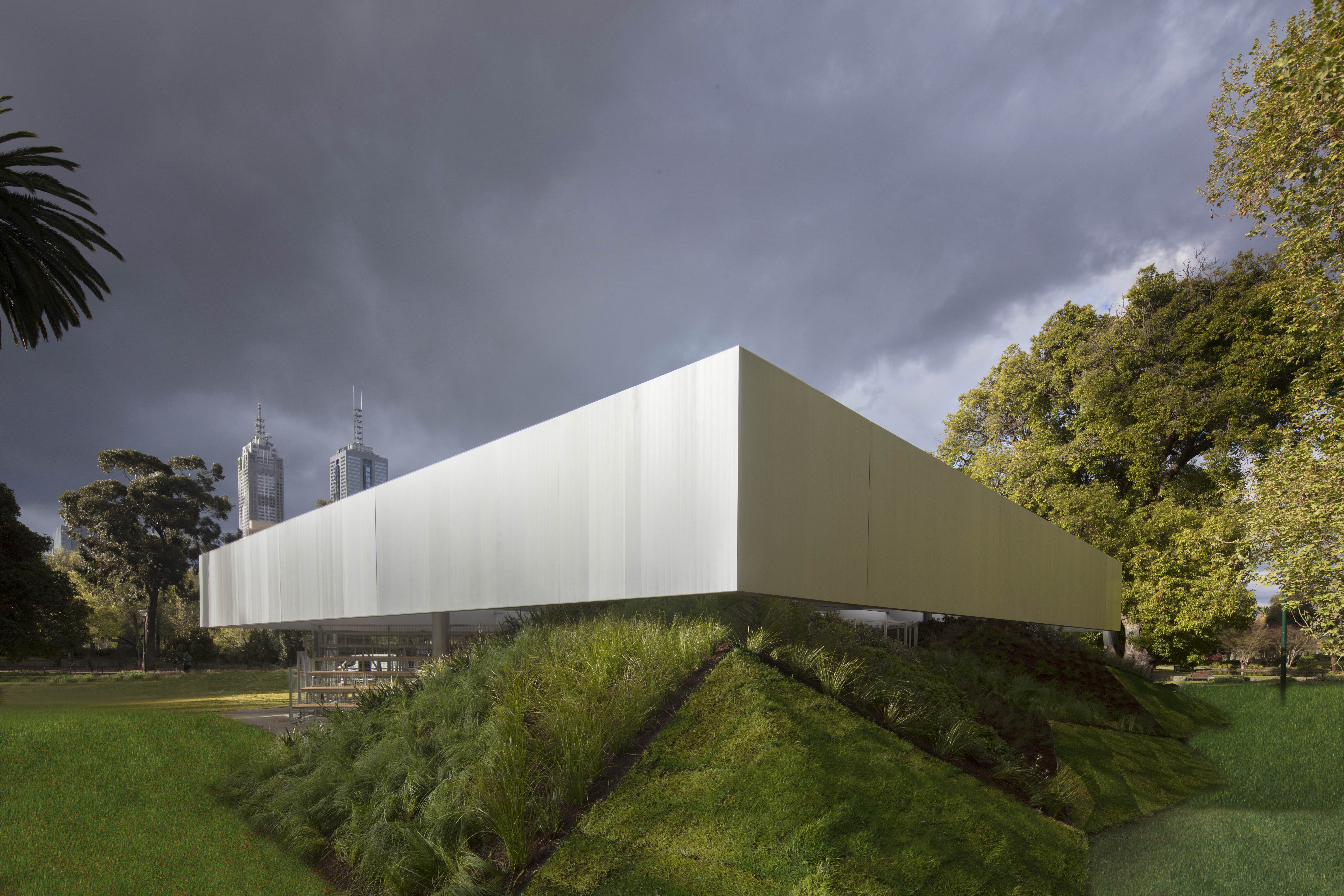 MPavilion Melbourne door OMA. Fotografie John-Gollings-corner