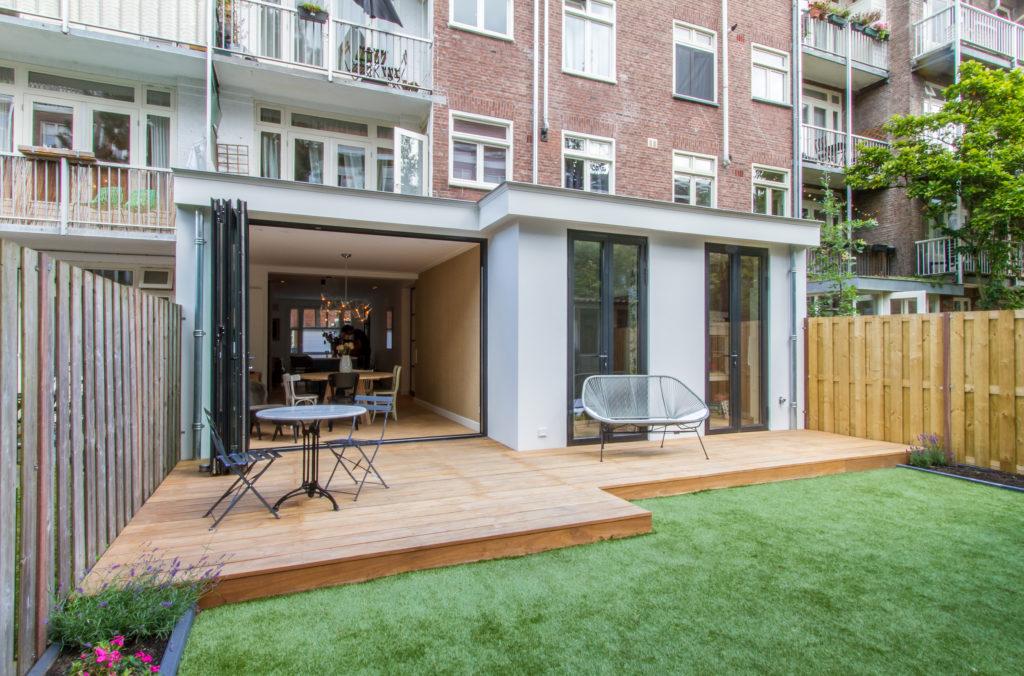 Plattegrond Slaapkamer Renovatie : Eigentijdse uitbreiding en renovatie amsterdamse schoolwoning