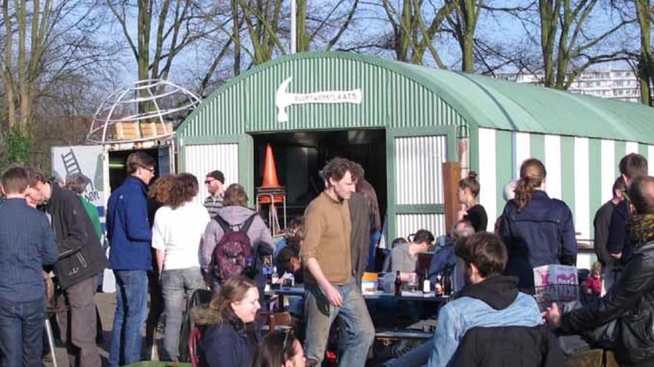 Buurtwerkplaats Noorderhof in Amsterdam