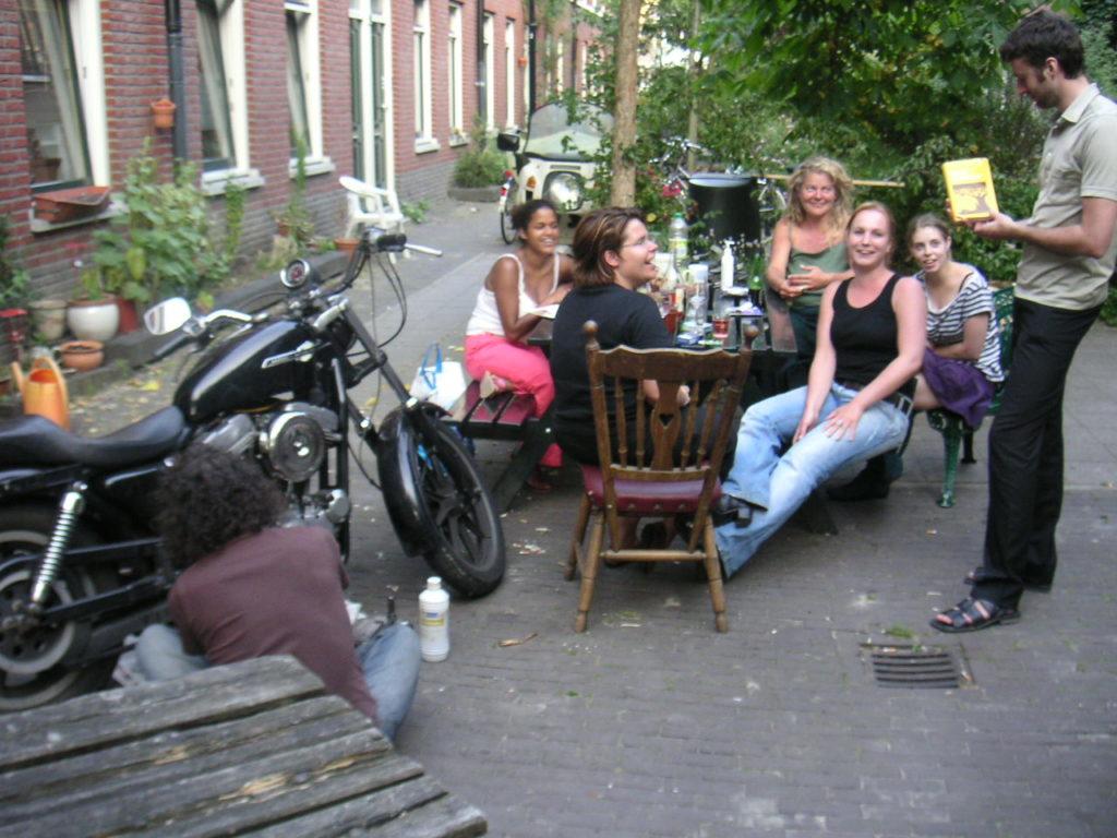 Stampioendwarsstraat in Rotterdam 2005