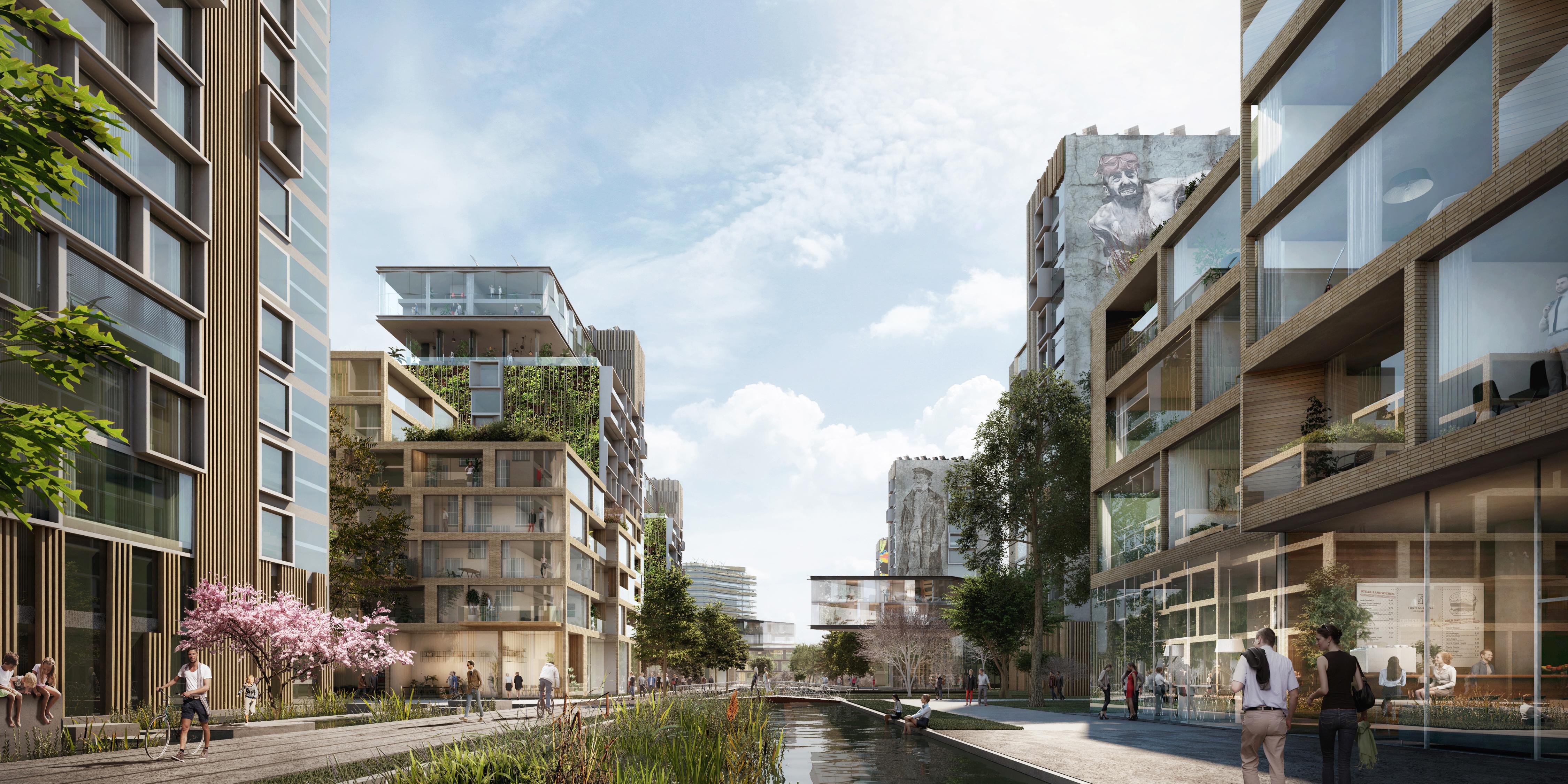 <p>Parkwijk Bargoen, UNStudio / Lodewijk Baljon</p>