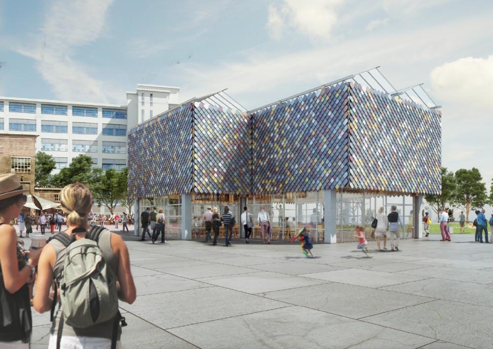 Overtreders W & bureau SLA ontwerpen People's Pavilion DDW
