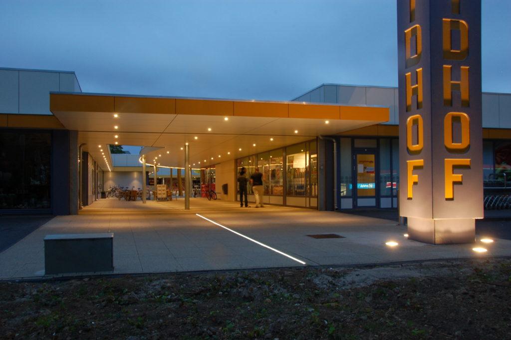 Upgrading Winkel Centrum Zuidhof - Architectenbureau Verbruggen
