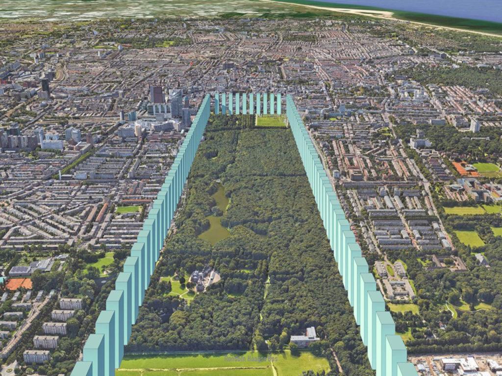 Central Park Den Haag plan van Winy Maas