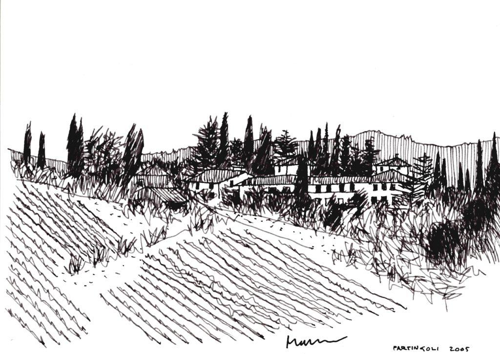 Partingoli, Toscane