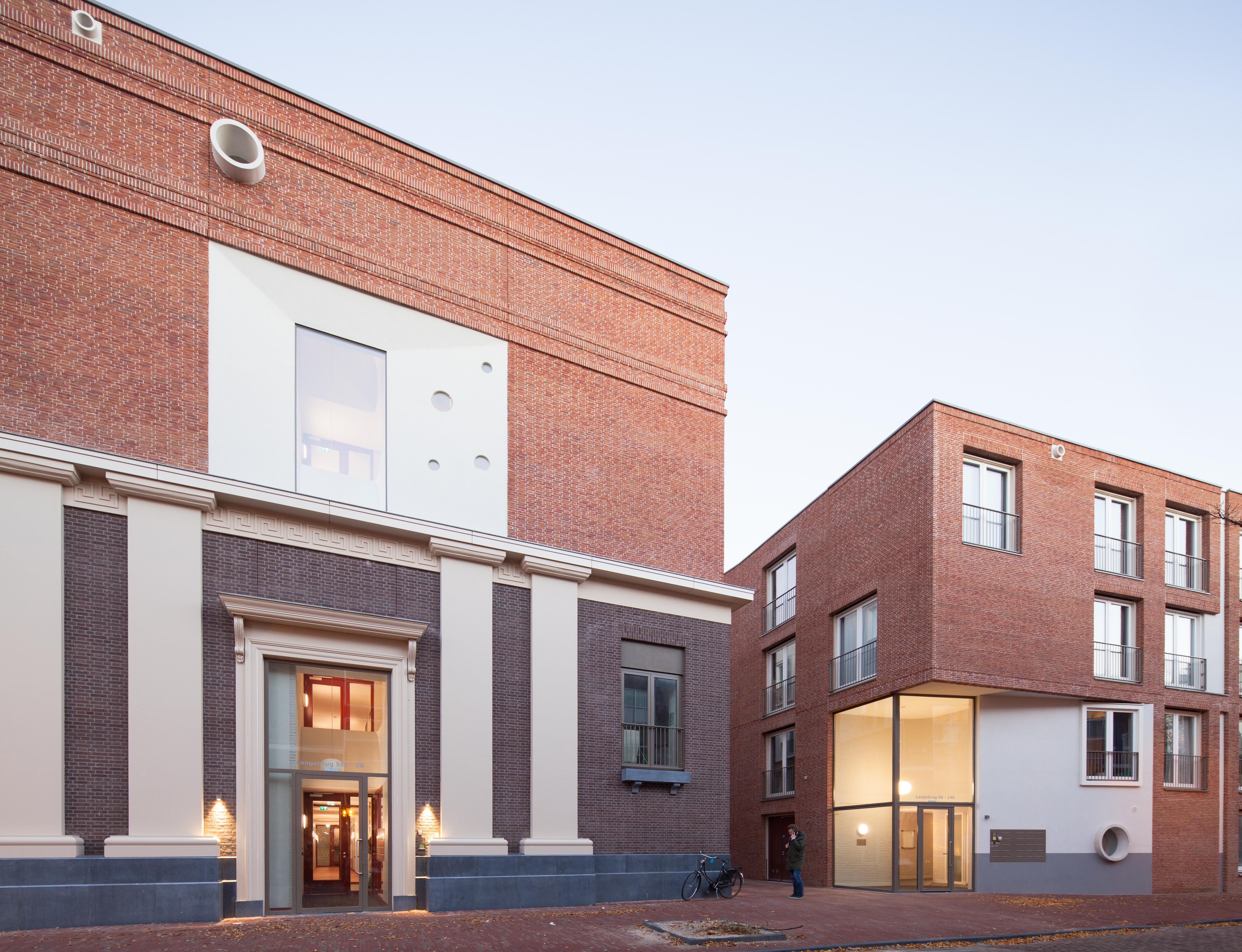 <p>Studentenhuisvesting Langebrug Leiden door Mecanoo</p>
