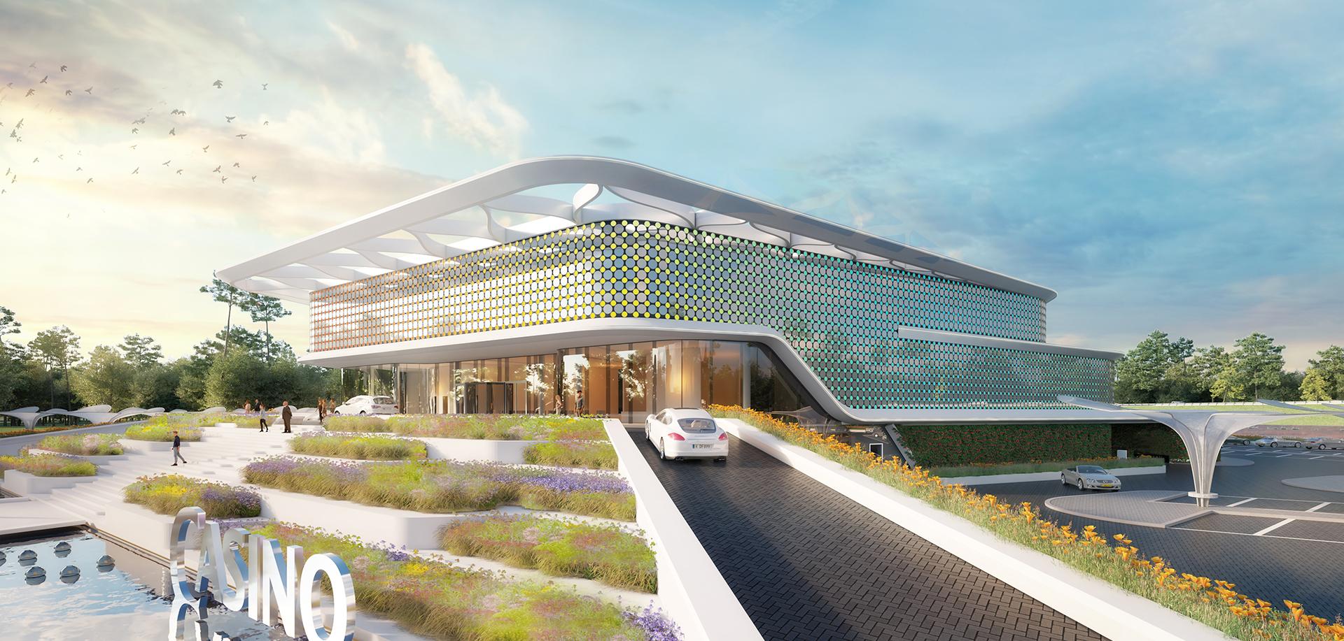 mvsa architects ontwerpt nieuw hollands casino venlo de architect. Black Bedroom Furniture Sets. Home Design Ideas