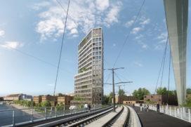 KCAP en OSLO winnen prijsvraag voor woontoren in Straatsburg, Frankrijk