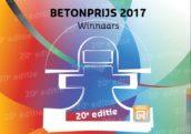 Winnaars betonprijs 2017 bekend