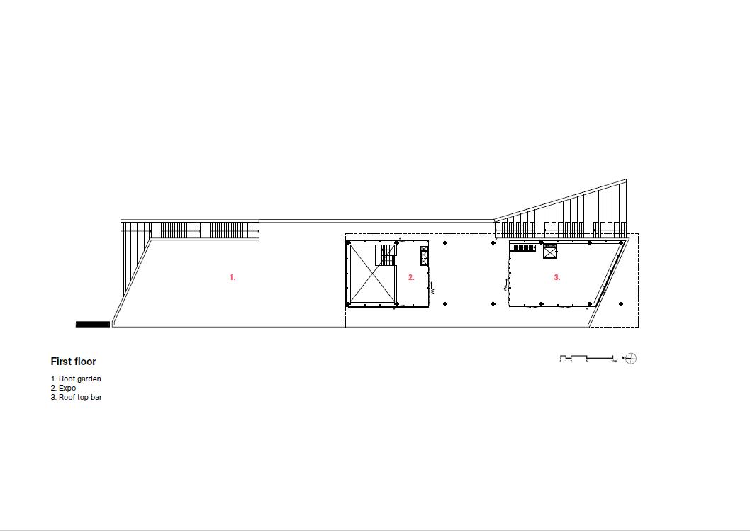 <p>eerste verdieping, daktuin</p>