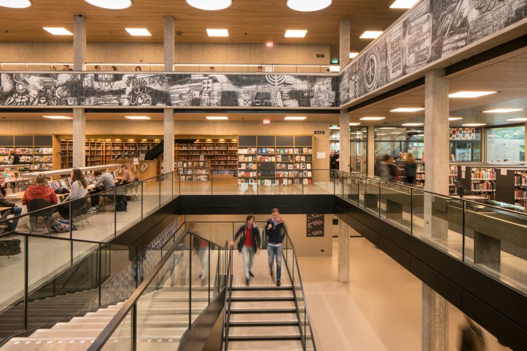 Universiteitsbibliotheek Erasmus Universiteit Rotterdam door Defesche van den Putte