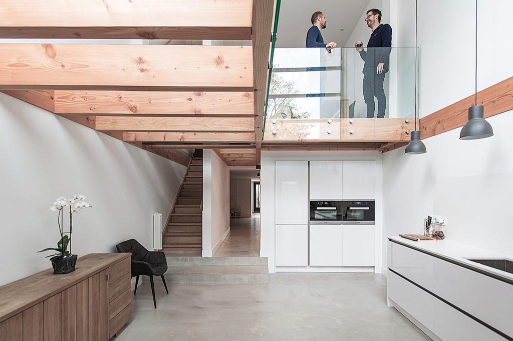 Keuken In Souterrain : Renovatie huis overveen u2013 bloot architecture de architect