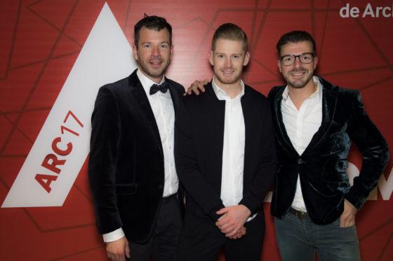 Van links naar rechts: Erik-Jan Verwij, Jons Jeronimus, Susanne Bakkenist. Foto: Elvins Fotografie