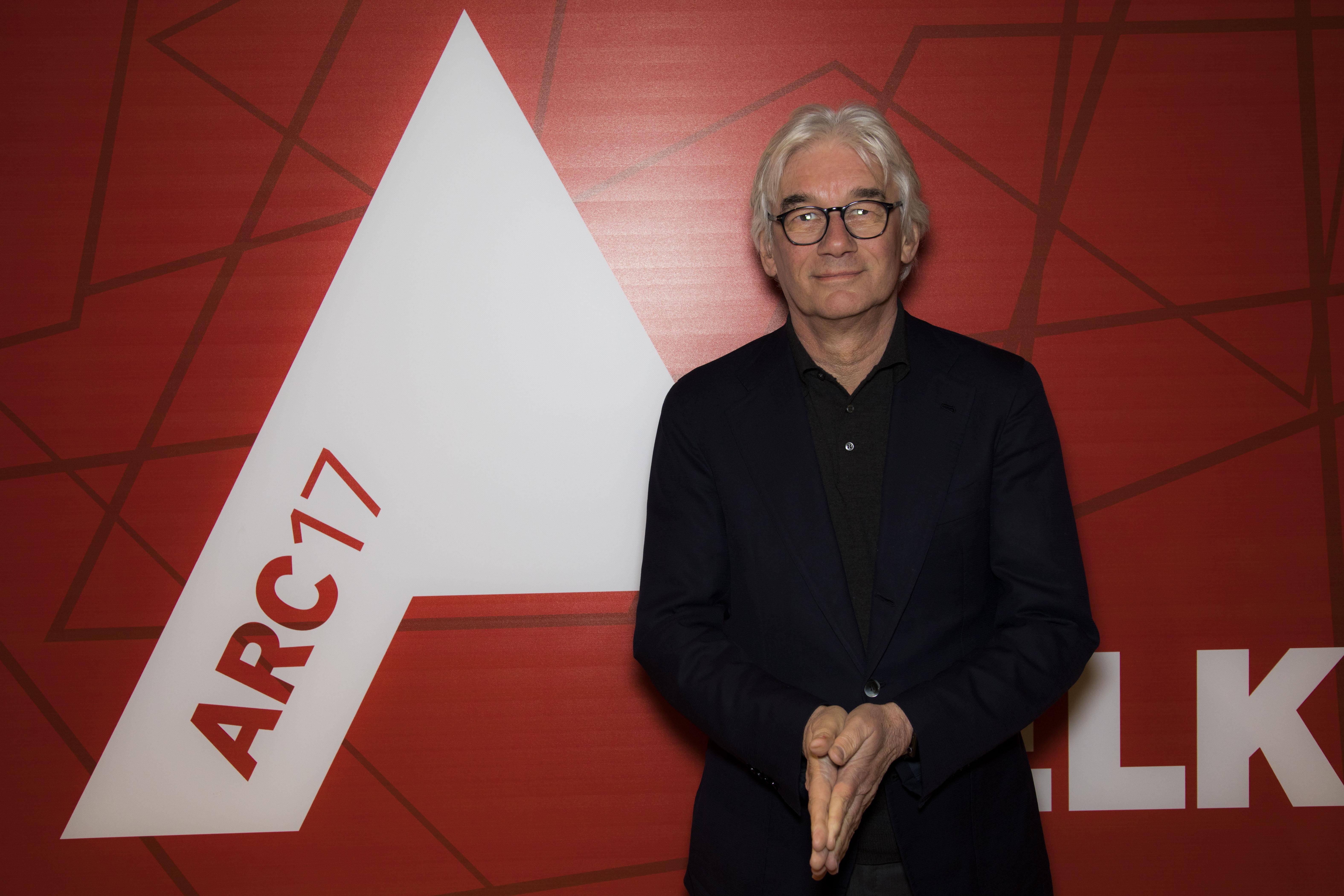 <p>Mels Crouwel van Benthem Crouwel behoorde met het RAi parkeergebouw tot de genomineerden voor de ARC17 Architectuur. Foto: Elvins Fotografie</p>