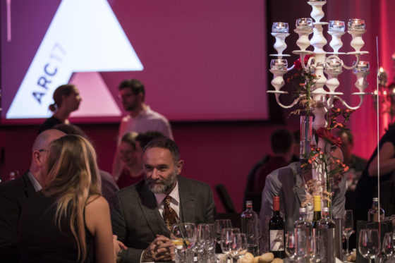 juryvoorzitter van de ARC17 Innovatie Award. Foto: Elvins Fotografie