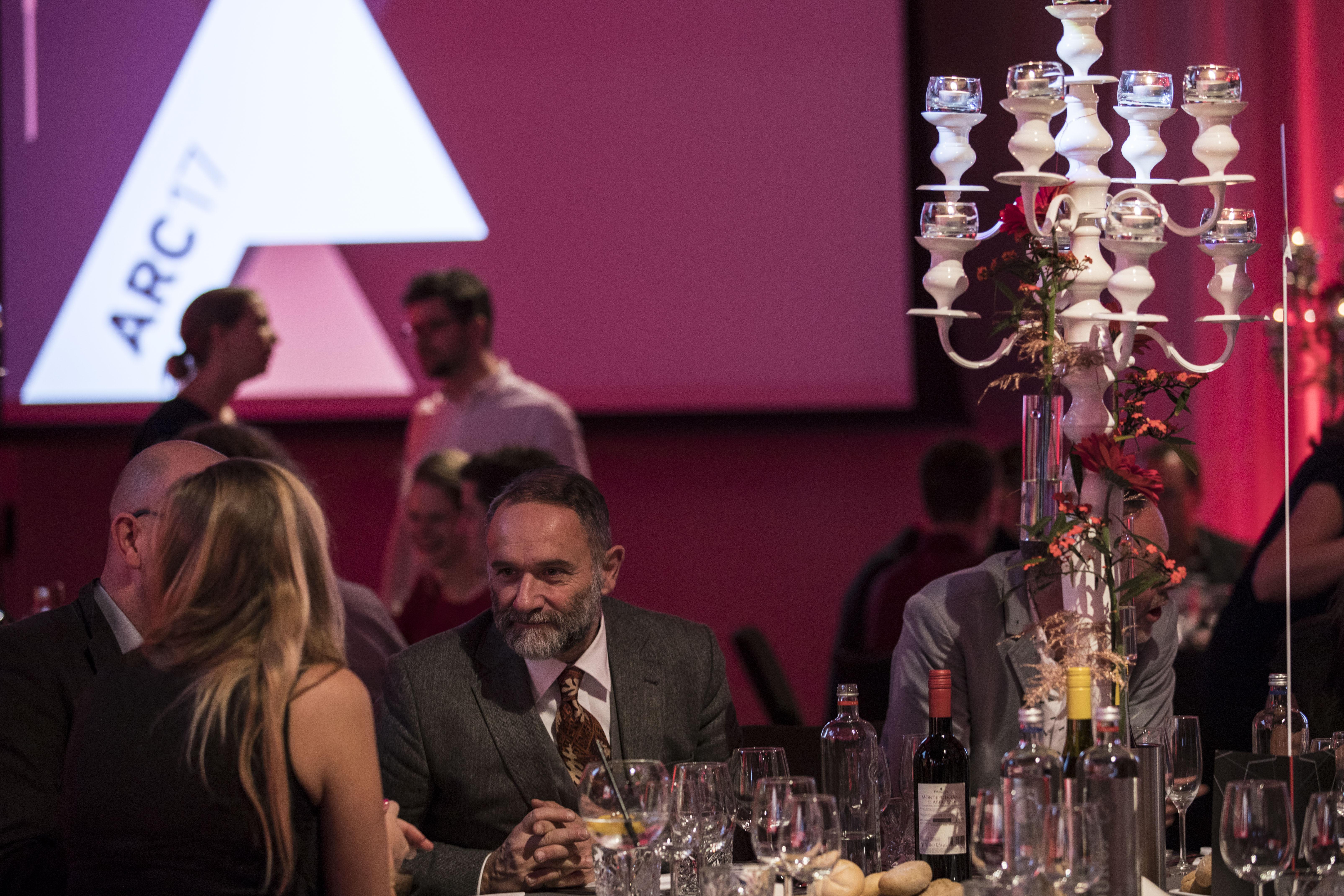 <p> juryvoorzitter van de ARC17 Innovatie Award. Foto: Elvins Fotografie</p>