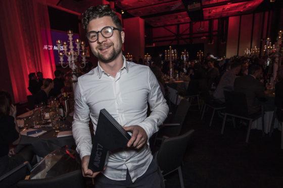 Gert Kwekkeboom wint de ARC17 Jong Talent Award