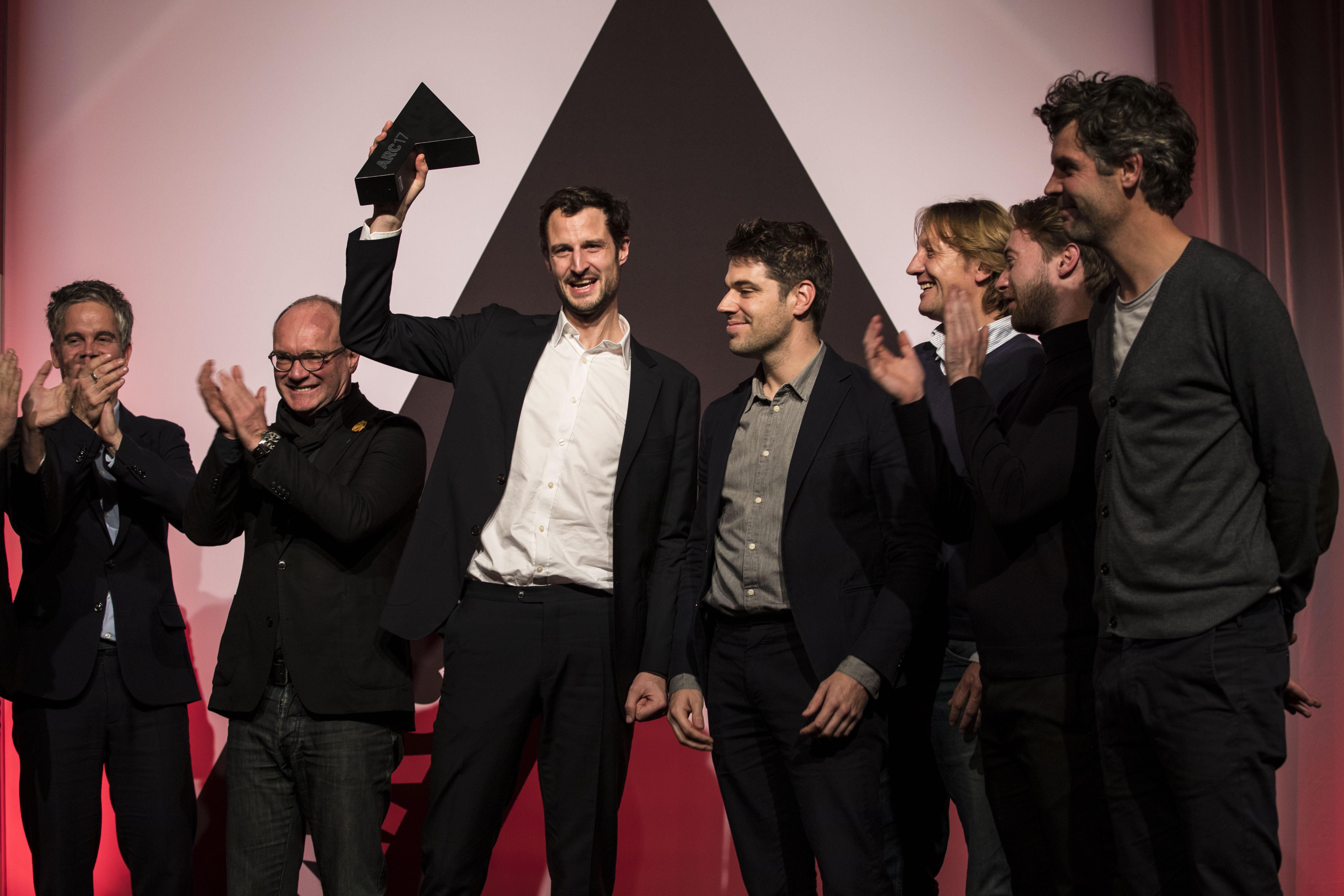 <p>Space Entounters winnen de ARC17 Interieur Award. Foto Elvins Fotografie</p>