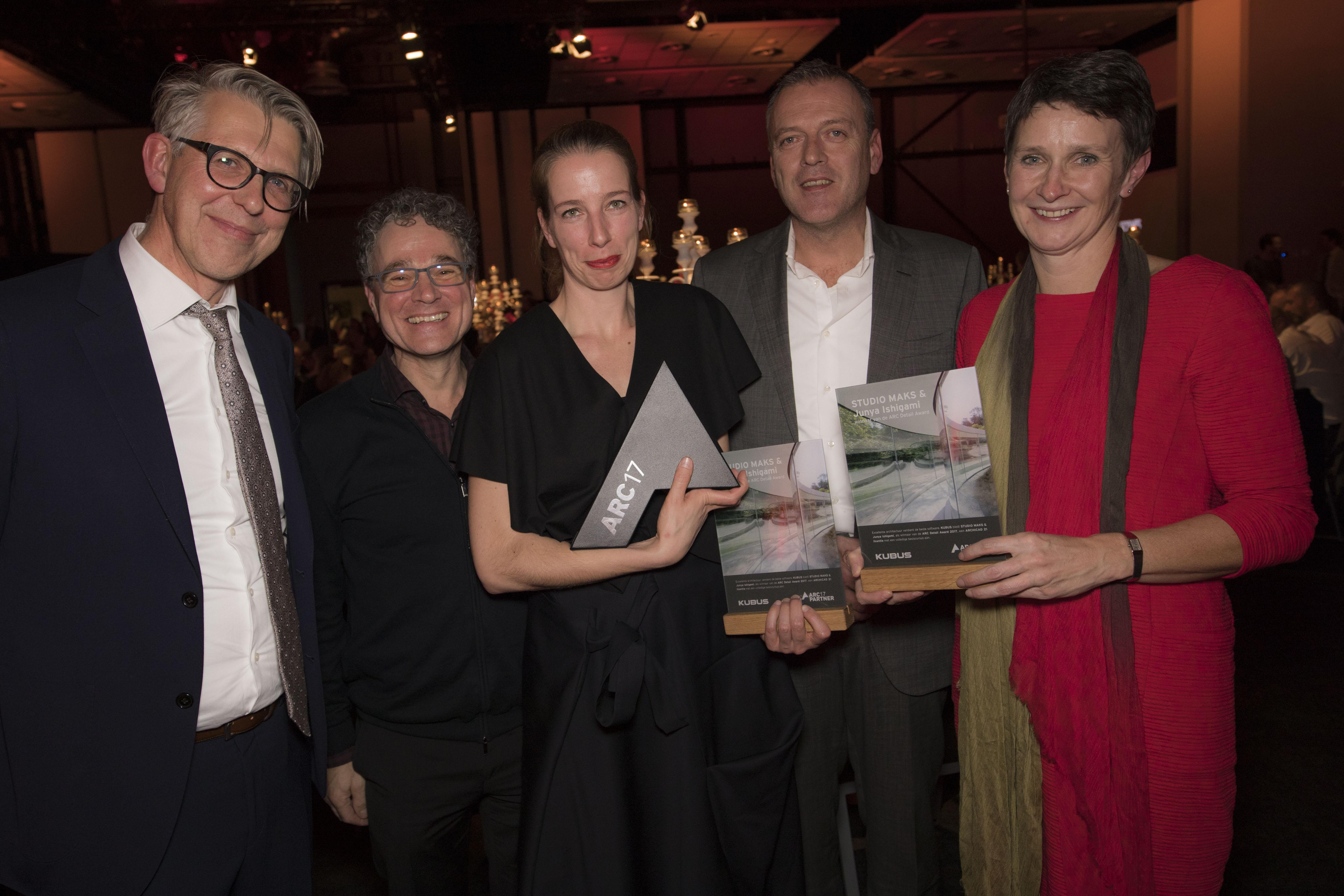 <p>STUDIO MAKS en JUNYA.ISHIGAMI+ASSOCIATES winnen de ARC17 Detail Award. Foto Elvins Fotografie</p>