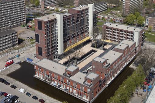 De eerste gerealiseerde hof, Molenaar & van Winden, 2010