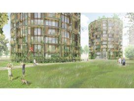 Geurst & Schulze architecten maakt ontwerp Ruysdael torens Haarlem