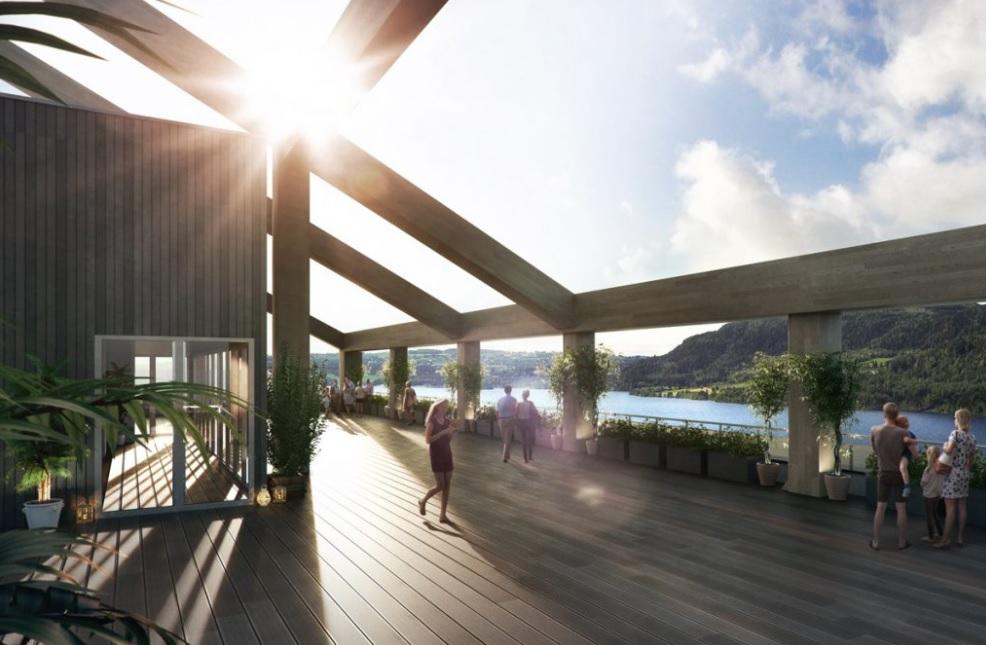 Video: mjøstårnet door voll arkitekter de architect