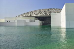 Regen van Licht – Louvre Abu Dhabi door Ateliers Jean Nouvel