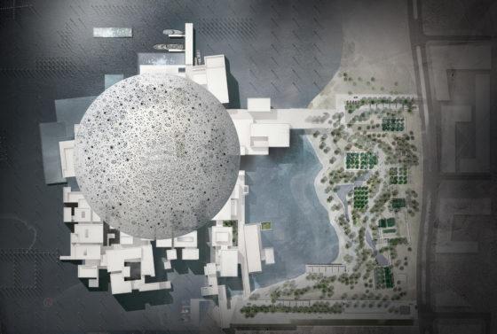Dakaanzicht_Abu_Dhabi_Louvre. Beeld: TDIC