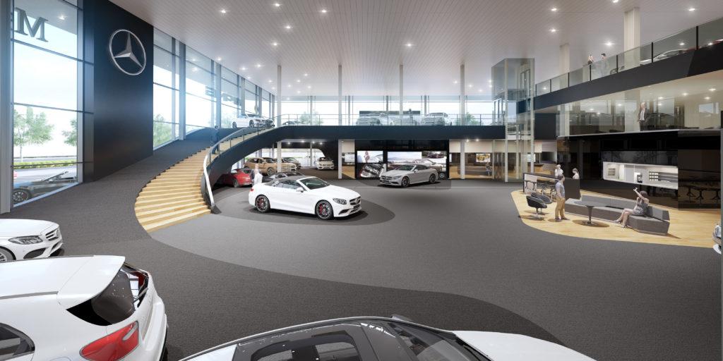 Herontwikkeling Flagshipstore Mercedes Benz Door Ibelings Van