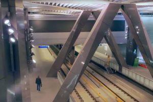 Opening Noord/Zuidlijn in Amsterdam gevierd