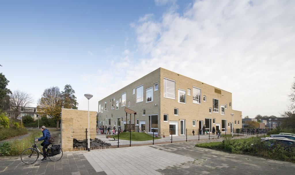 Kindcentrum De Toverberg door LIAG Architectuur is te bezoeken tijdens de DvdA 2018 in Zoetermeer