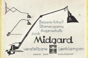 IMM Keulen 2018: TYP 500 en TYP 550 lampen van Midgard