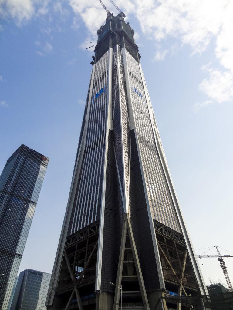 PingAn-Finance-Center, hoogste opgeleverde gebouw in 2017