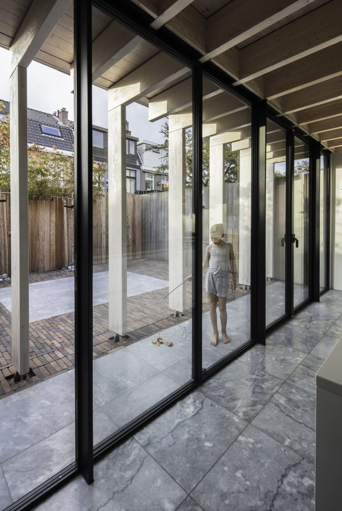 Huis in Haarlem door Werner Kamp en Elsie De Bruyn. Beeld Jeroen Musch