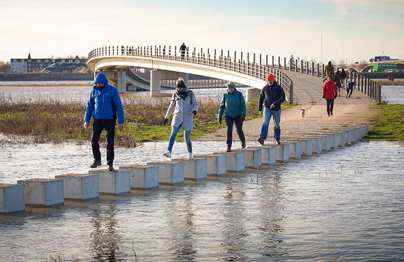 Zaligebrug Nijmegen door NEXT Architects