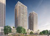 Rotterdamse Torens: Zalmhaven door KAAN Architecten
