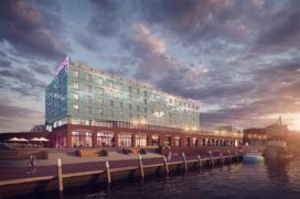 Bureau Kroner wint tender hotel en bedrijfsverzamelgebouw Lelykade Scheveningen