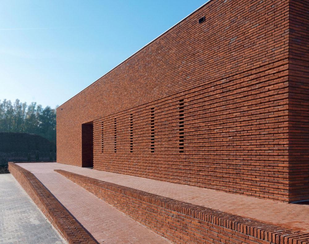 Interieurprijs voor Ontvangstpaviljoen Steenfabriek Vogelensangh door Bedaux de Brouwer