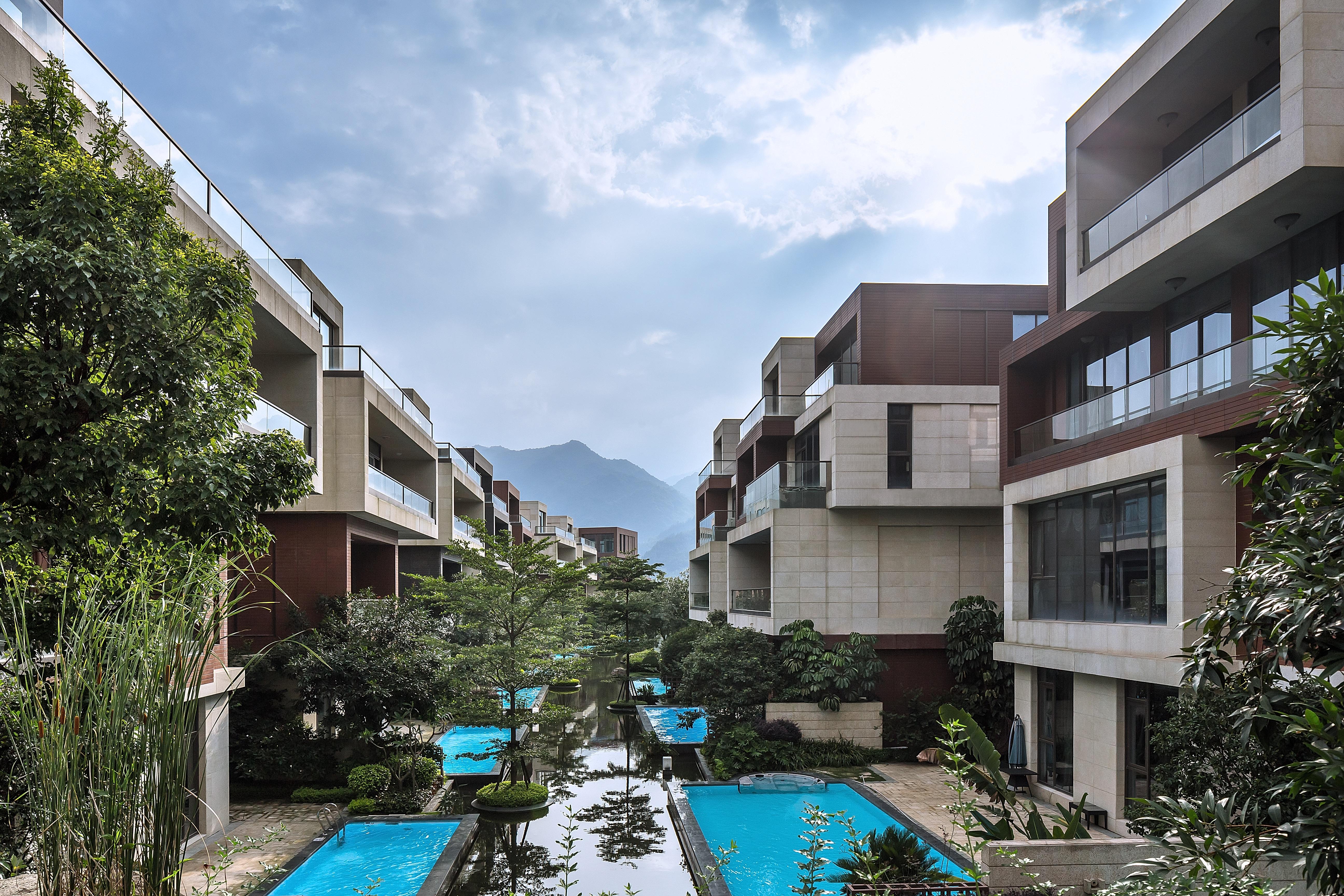 <p>Lianjiang – Butterfly Bay, woningbouw project in Fujian Provincie met maximale integratie tussen natuur en wonen</p>