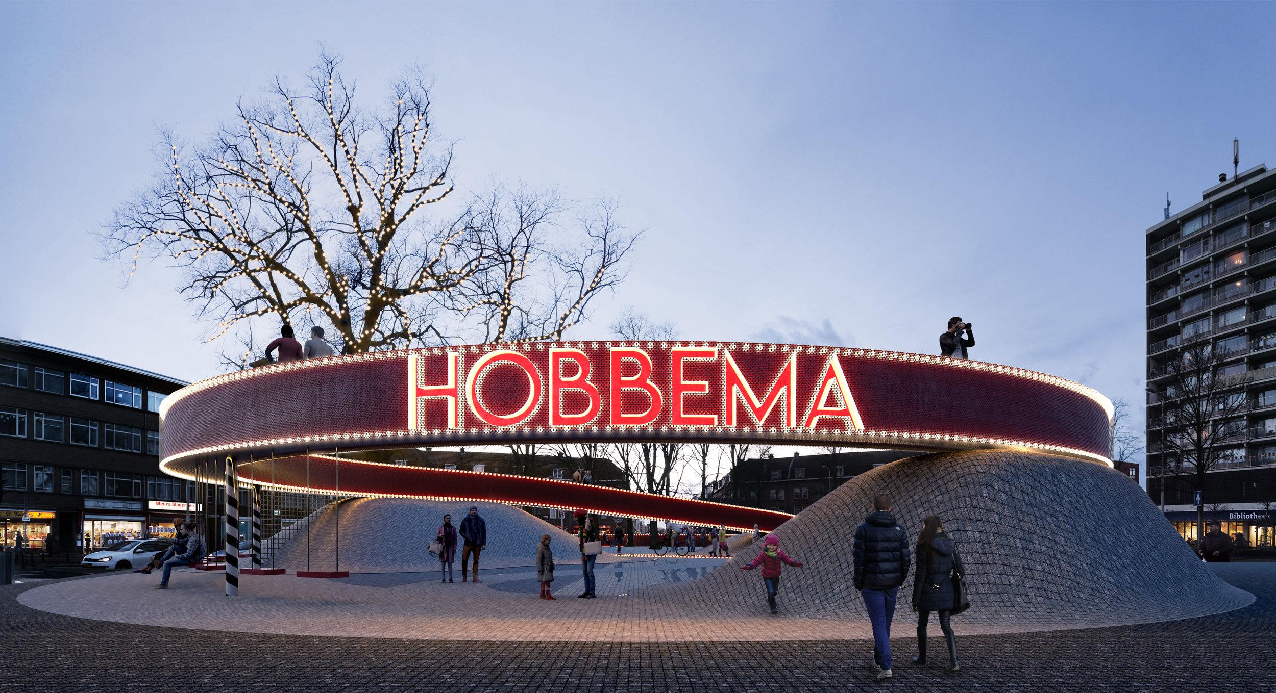 <p>Landmark Hobbemaplein Den Haag door BOLD</p>