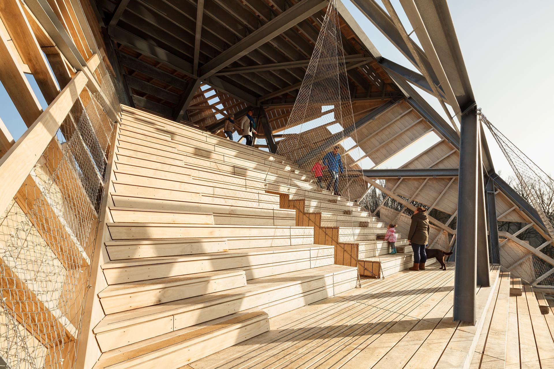 <p>Uitkijktoren Pompejus Halsteren RO&AD Architecten Foto Katja Effting</p>