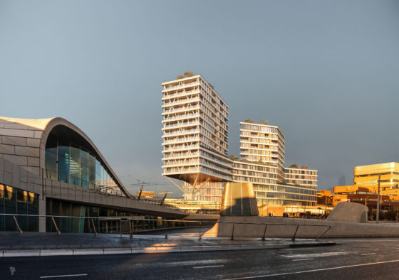 Morning gold, Paul de Ruiter Architects, Arnhem
