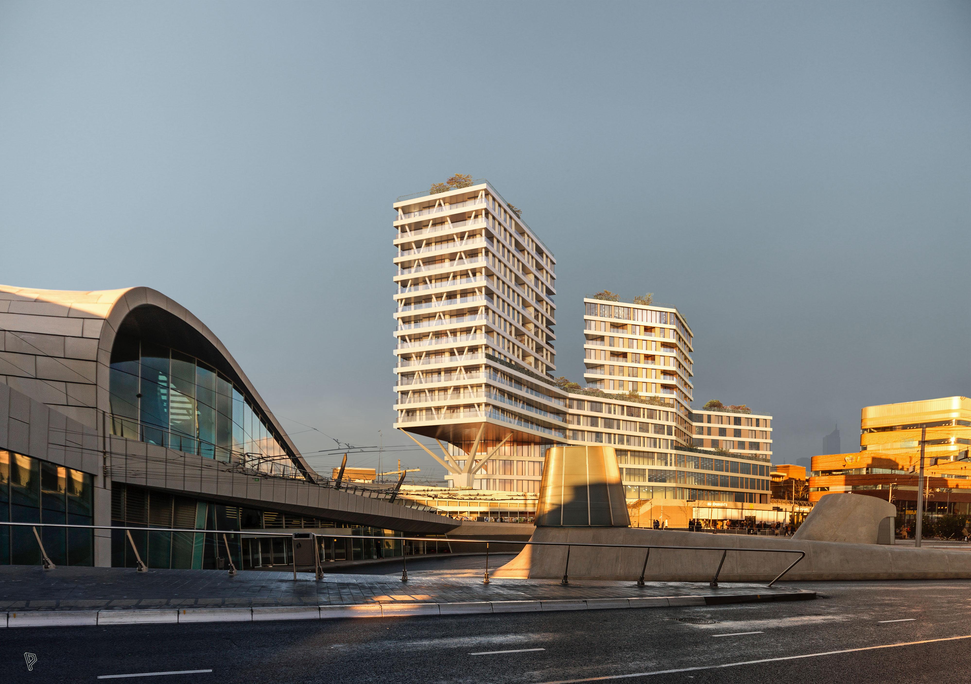 <p>Morning gold, Paul de Ruiter Architects, Arnhem</p>
