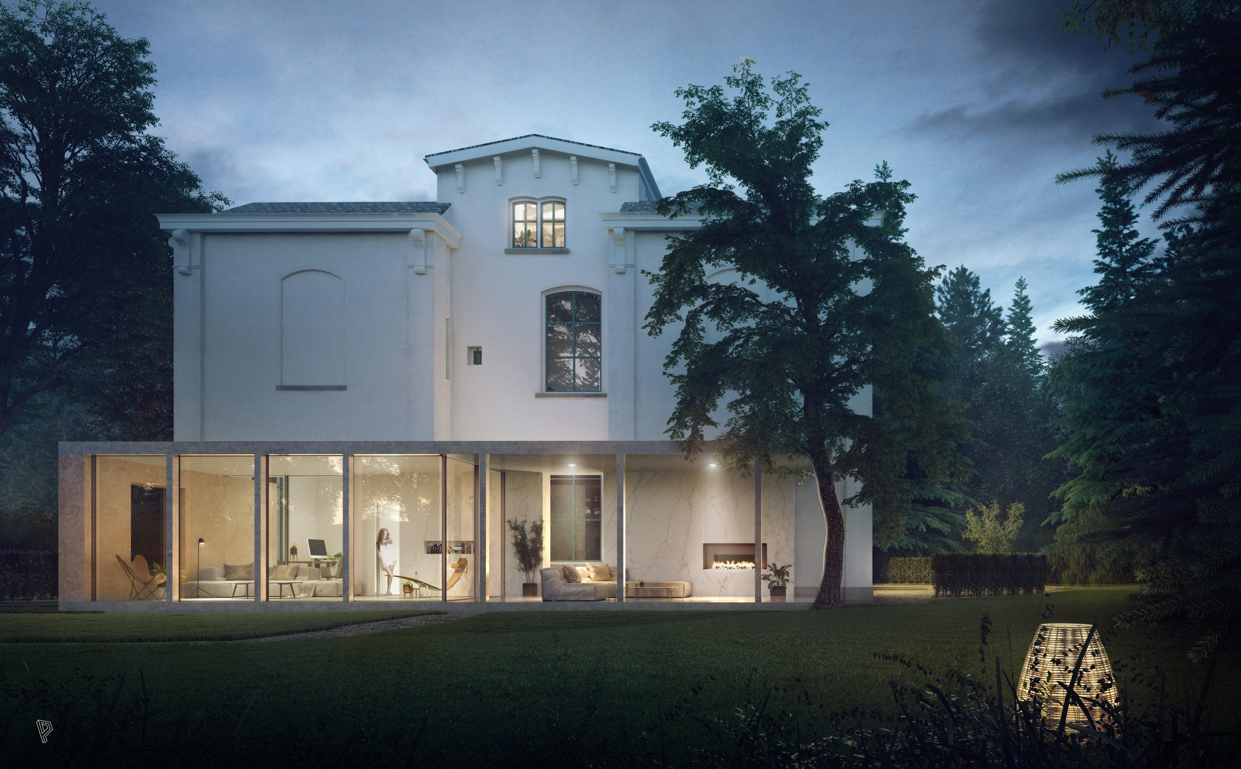 <p>Exterior, Zecc Architecten, Villa, provincie Utrecht</p>