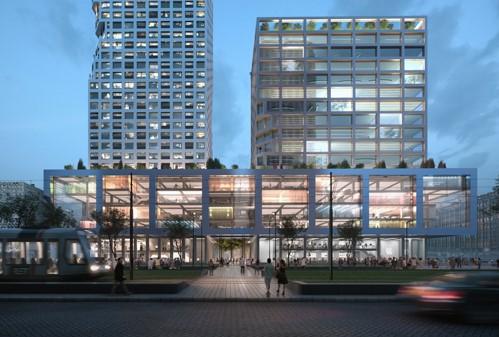 MVRDV Kruisplein Rotterdam Impressie Mozses