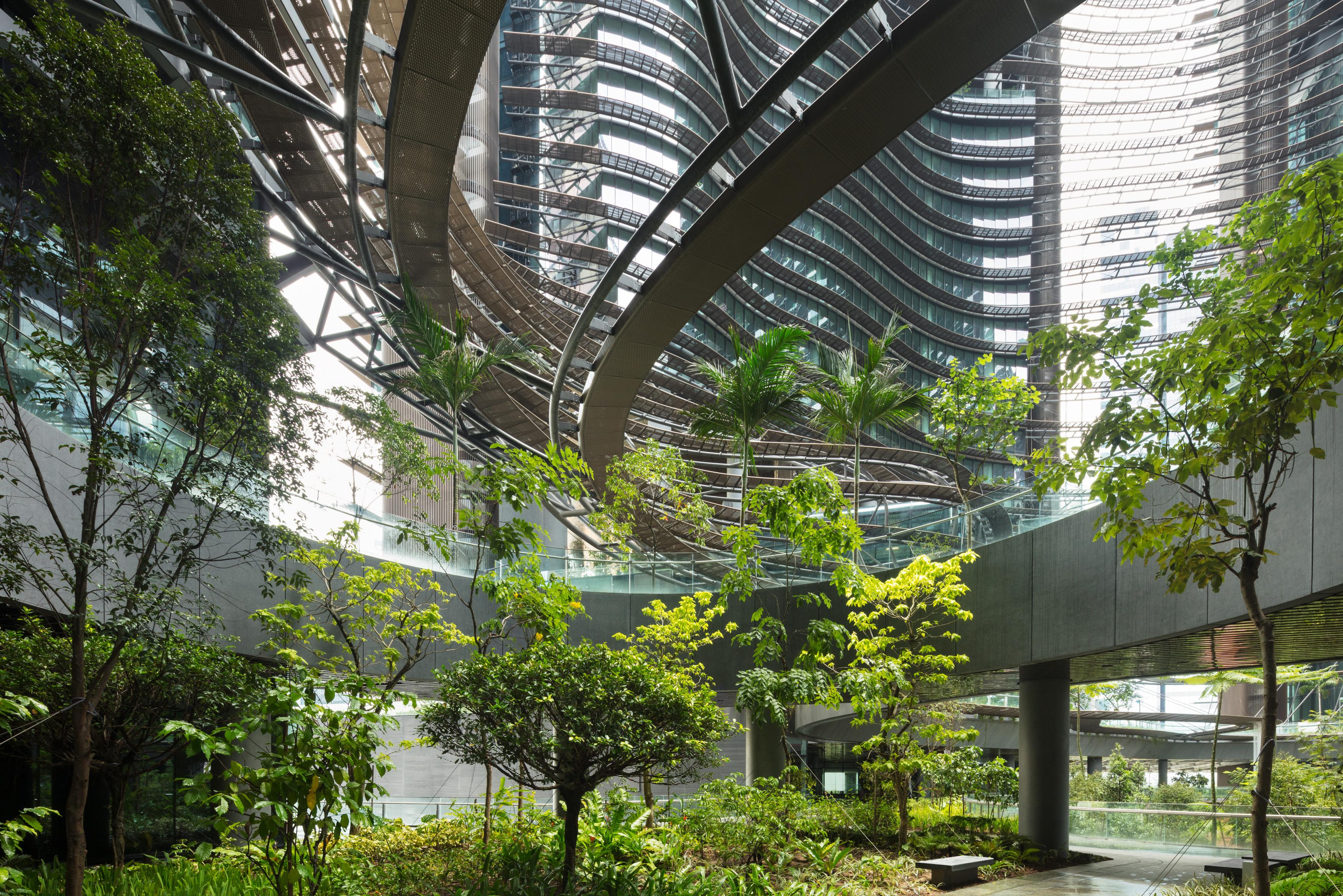 <p>In het project zijn 350 soorten planten verwerkt</p>