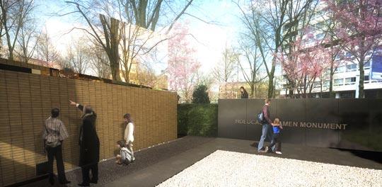 Namenmonument Amsterdam Daniel Libeskinde