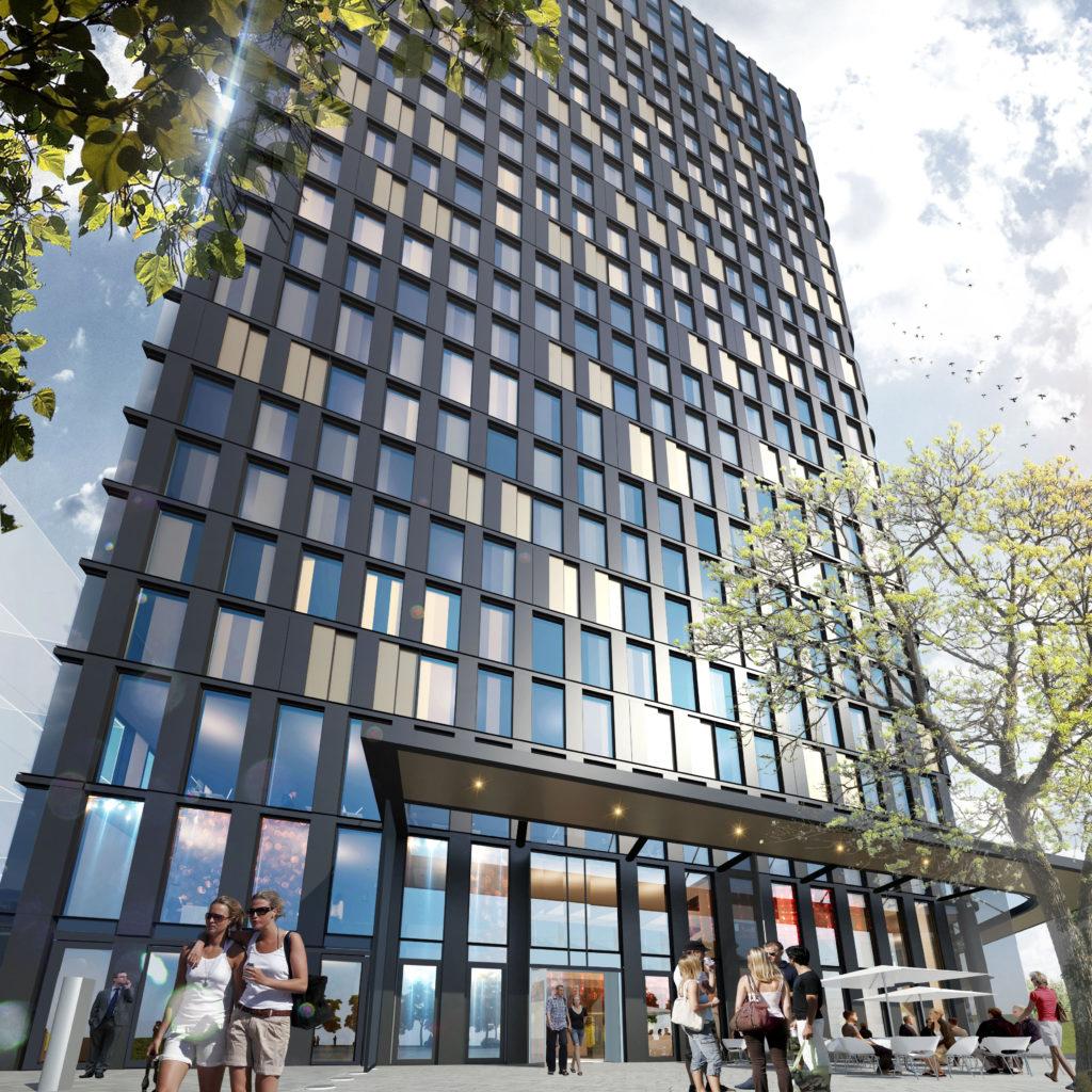 QO Hotel door Paul de Ruiter Architects