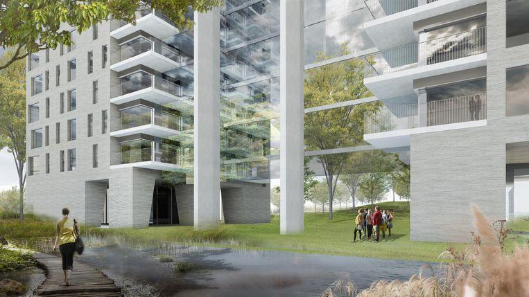 Polo Architects nieuwbouw Antwerpen
