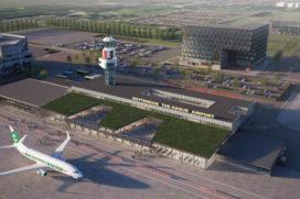 Nieuwe terminal voor Rotterdam The Hague Airport